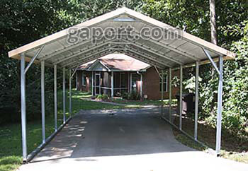 1 Car Carports Keep That Vehicle Protected - Price Now!