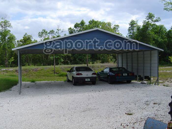 3 car carports at your service for years view hundreds for Three car carport
