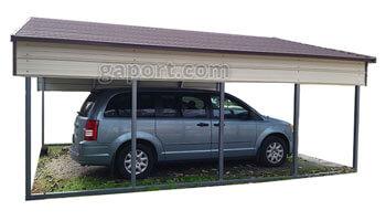 Carport - Two Car 2 S&le  sc 1 st  Georgia Portable Buildings & 2 Car Carports Available - Browse Create Buy Online