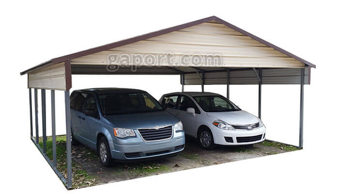 2 car carports available browse create buy online. Black Bedroom Furniture Sets. Home Design Ideas