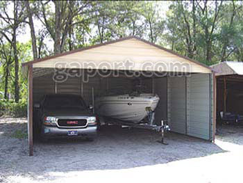 Carports For California With A More Attractive Box Eave