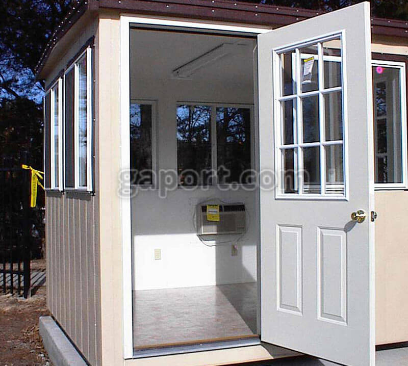 Buy Portable Security Guard Booths Prefab Security