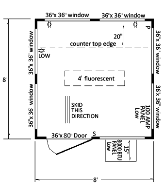 Skid House Plans Gallery - 3D house designs - veerle.us