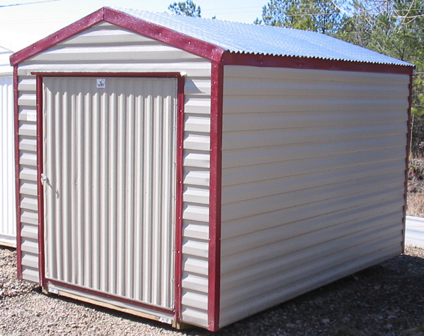 8x10 Metal Shed >> Portable Storage Sheds For Backyards - Get Your Garage ...