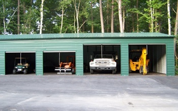 engineered metal garages