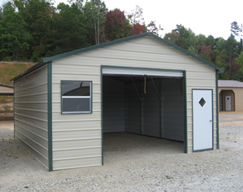Metal Garages Steel Illinois IL