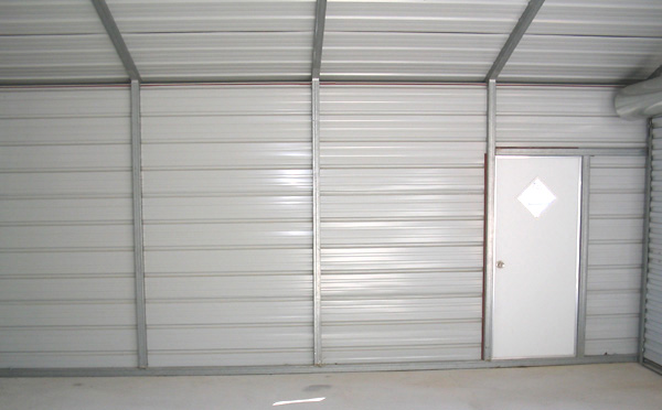 Horizontal siding vs vertical siding on steel garages for Horizontal metal siding