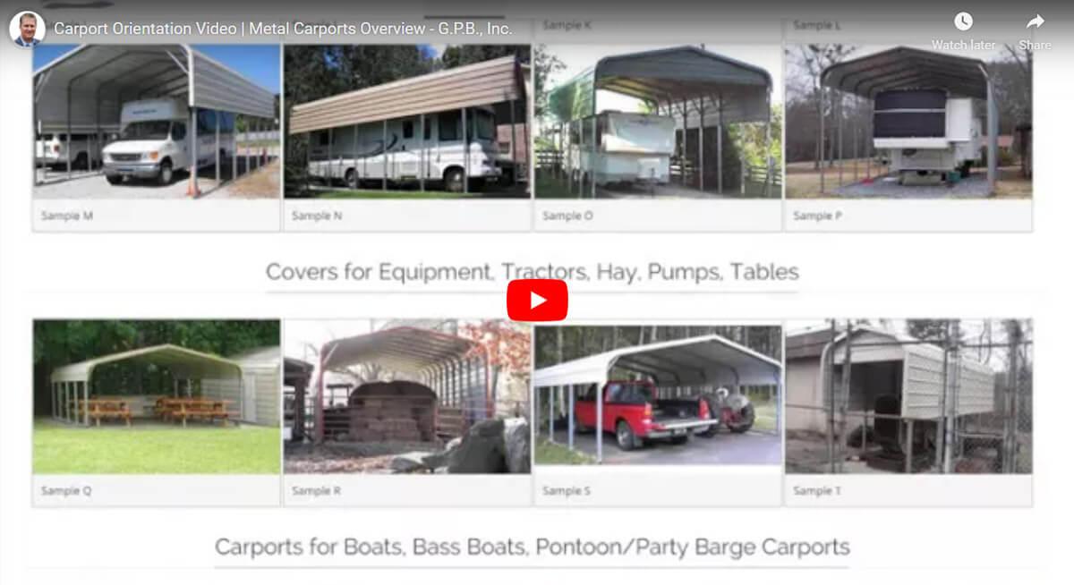 Carports Metal Carports Portable Steel Car Ports