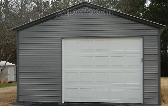 Metal Garages | Steel Buildings | Steel Garage Plans