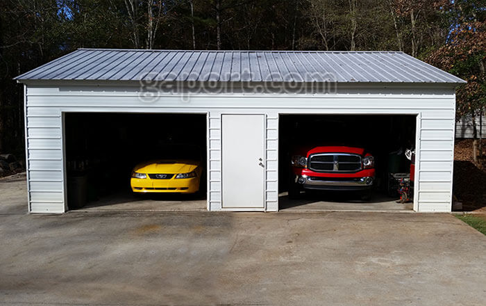 Metal Garages | Steel Buildings | Steel Garage Plans