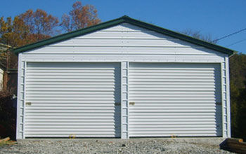 Metal garages steel buildings steel garage plans for Diy garage packages