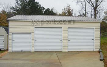 Metal garages steel buildings steel garage plans for 16 x 10 garage door cost