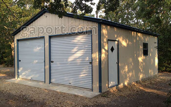 Metal garages steel buildings steel garage plans for Cost to build a house in arizona