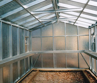 The newer and innovative style of greenhouse is the polycarbonate for going green.