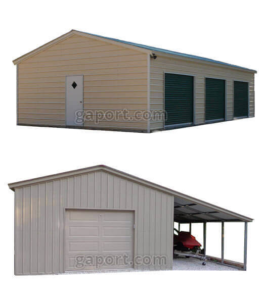 Carports Metal Garages Portable Buildings Guardhouses