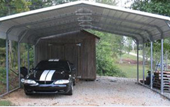 Charming Here Is A Rounded Style Carport With Taller Height Than Usual Which Gives  You More Space