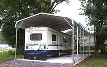 Easily accommodate parking for your four wheeler, pop-up, camper, trailer, fifth wheel or RV.