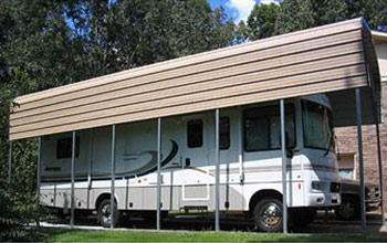 Here is a tall RV cover to suit your needs nicely at home.