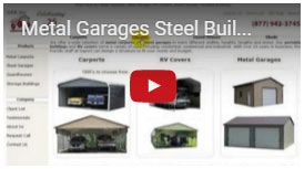 Here is a video that will help you learn about garages on our website and answer questions.