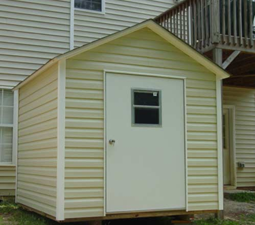 Vinyl Storage Building Shed With Vinyl Siding Build