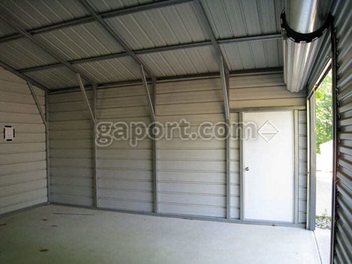 Awe Inspiring The Inside Of A 20X20 Steel Garage Interior Metal Building Download Free Architecture Designs Rallybritishbridgeorg