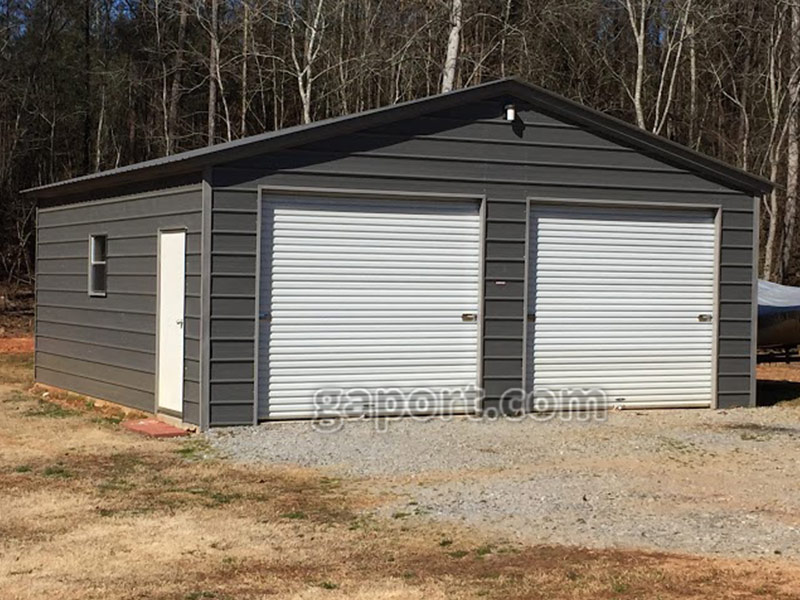 Metal garages for arkansas steel garage in ar for Metal garage pics