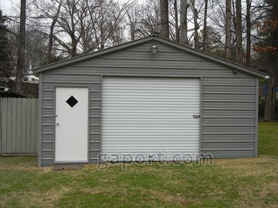 ideas garage barn buildings pin garages illinois metal pole il