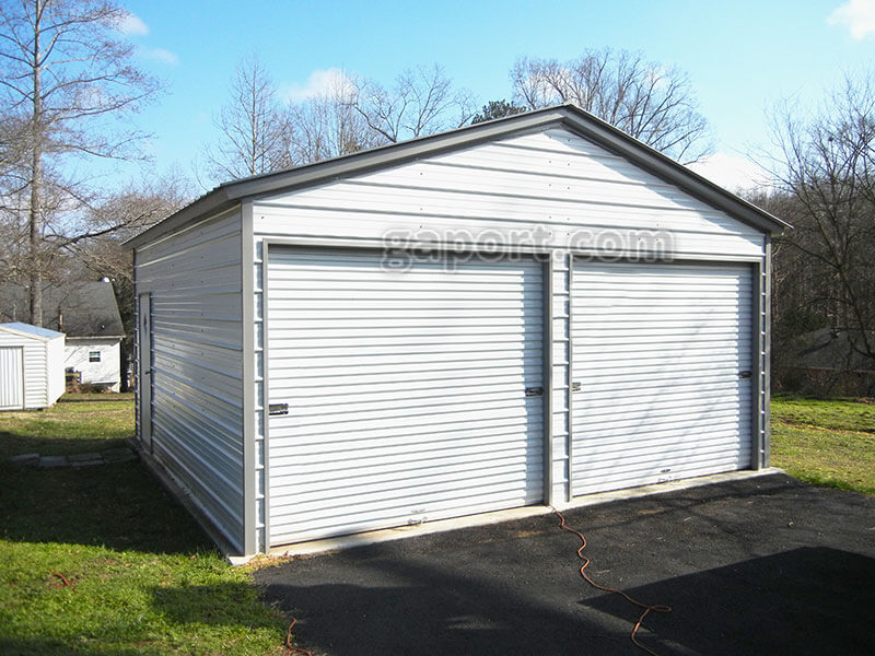 9x8 garage doorMetal Garages Steel Alabama AL