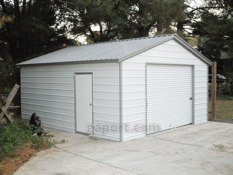 Metal Garages Steel Maryland MD