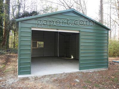 kits hurricane building buildings steel metal garages garage