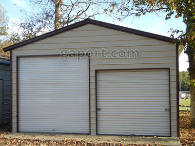 These Metal Garages are available in North Carolina & South Carolina