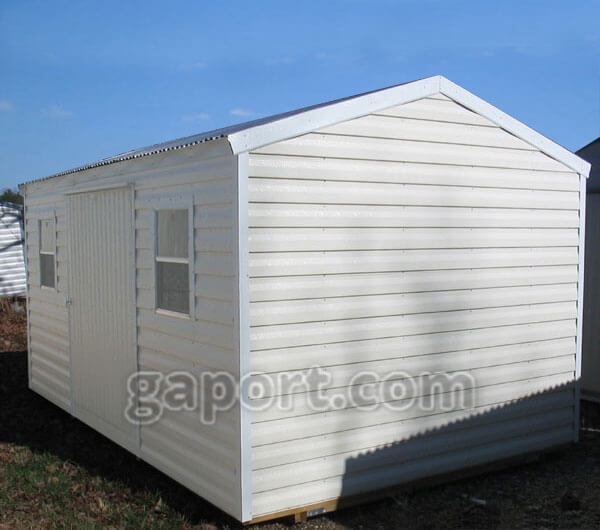 Metal Storage Sheds Common Sizes Including 10 X 16