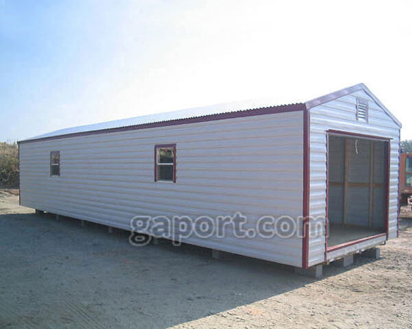 Metal Portable Sheds 12 X 40