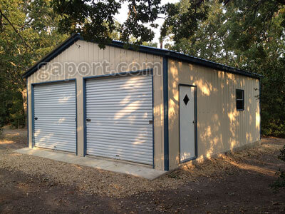 Steel building kits metal building kits with pictures for Diy garage packages
