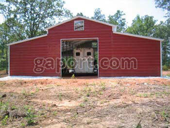 Metal Barns and Steel Structures for Livestock