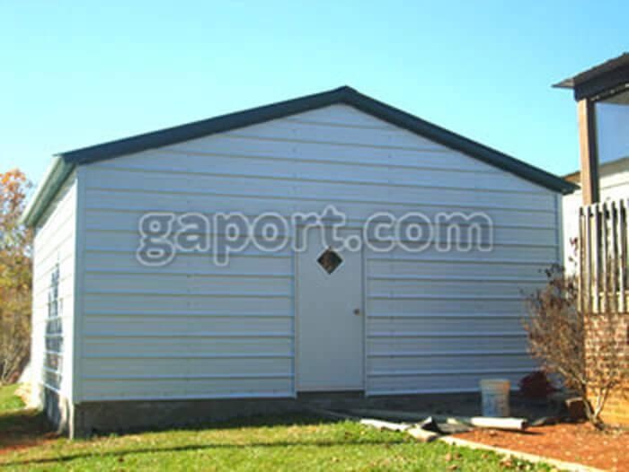 Steel garage kits diy for Diy garage packages